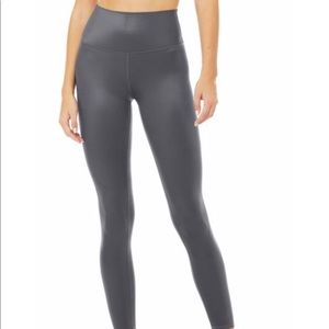 Reflective grey leggings